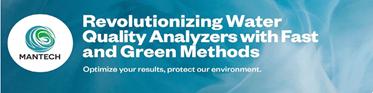 Välkommen på webinar om MANTECHs instrument för dricks- och avloppsvattenanalyser
